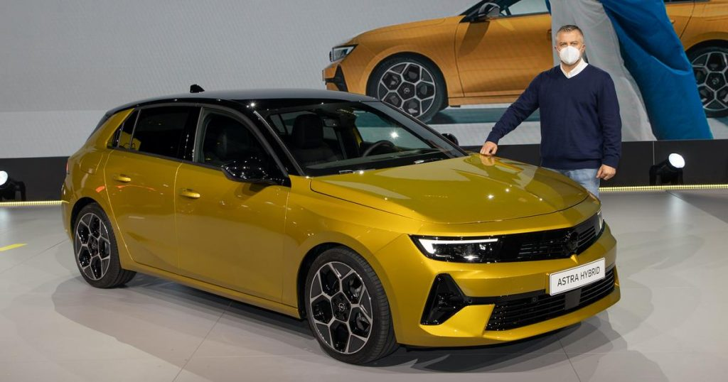 The new Opel Astra in all its glory - 6th generation premiere
