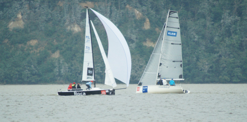 They feared that the competition would be spoiled by strong winds.  See how it ended
