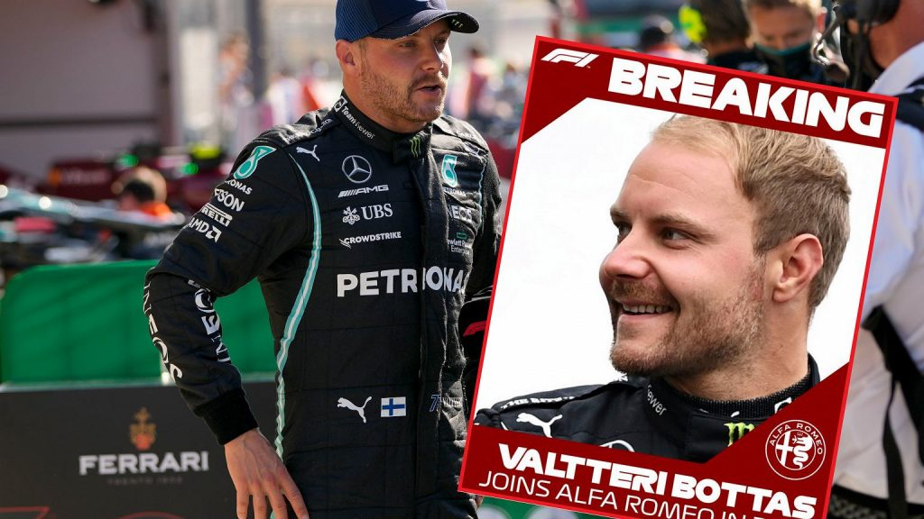 Valtteri Bottas has found a new team in F1!  The end of Robert Kubica's dreams?