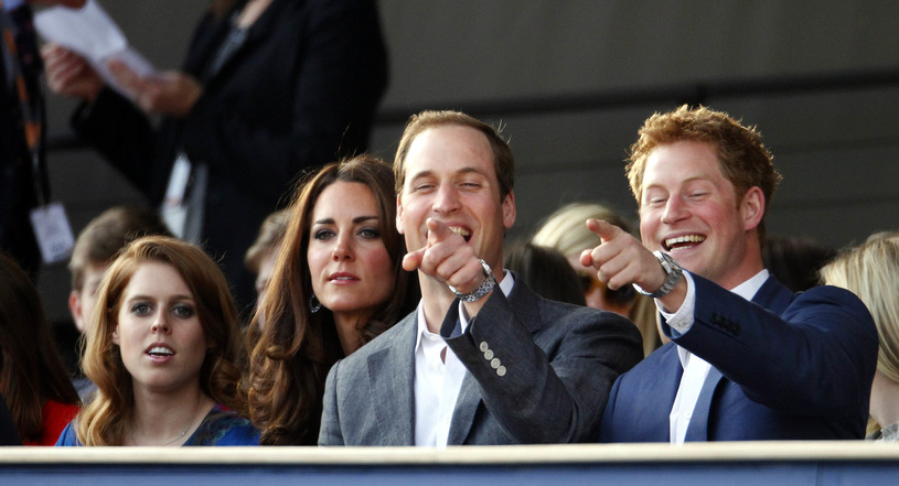 Princess Beatrice, Princess Kate, Prince William and Prince Harry / WPA Pool / Getty Images