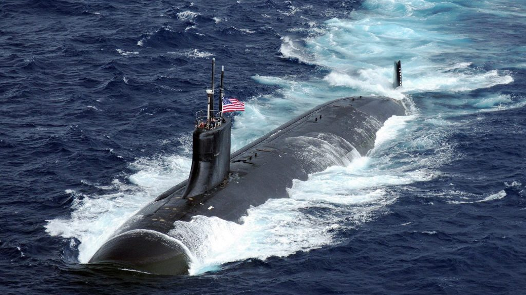 American submarine accident.  USS Connecticut What you'll bump into |  News from the world