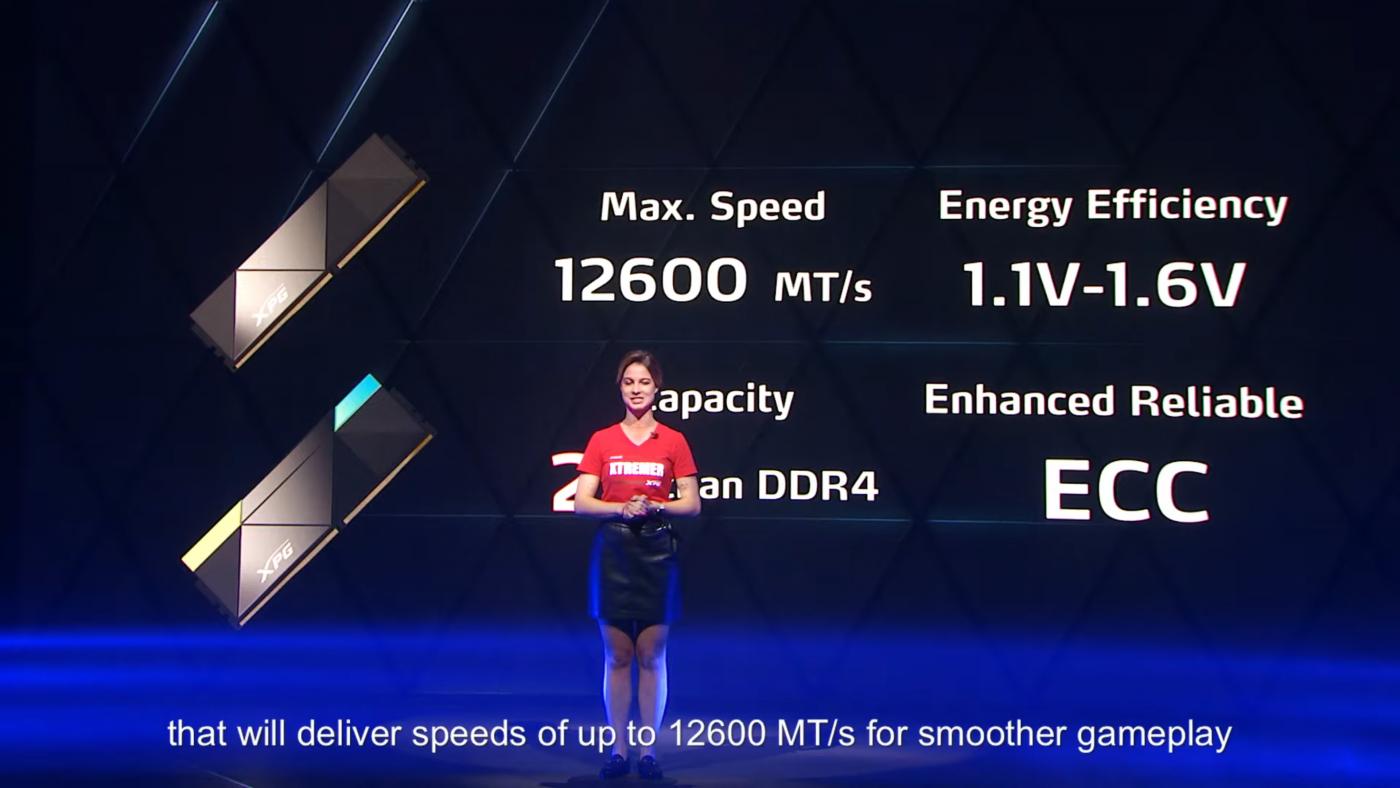 ADATA XPG DDR5-12600