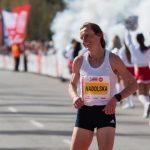 Karolina Nadolska broke the Polish half-marathon record