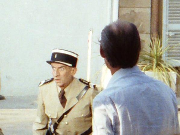 Louis de Funes in the movie