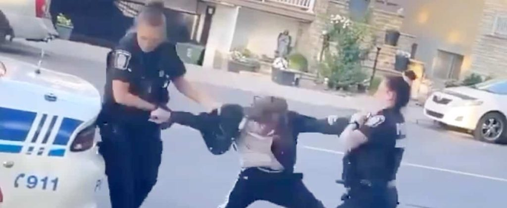 Minor needed after police beat two women