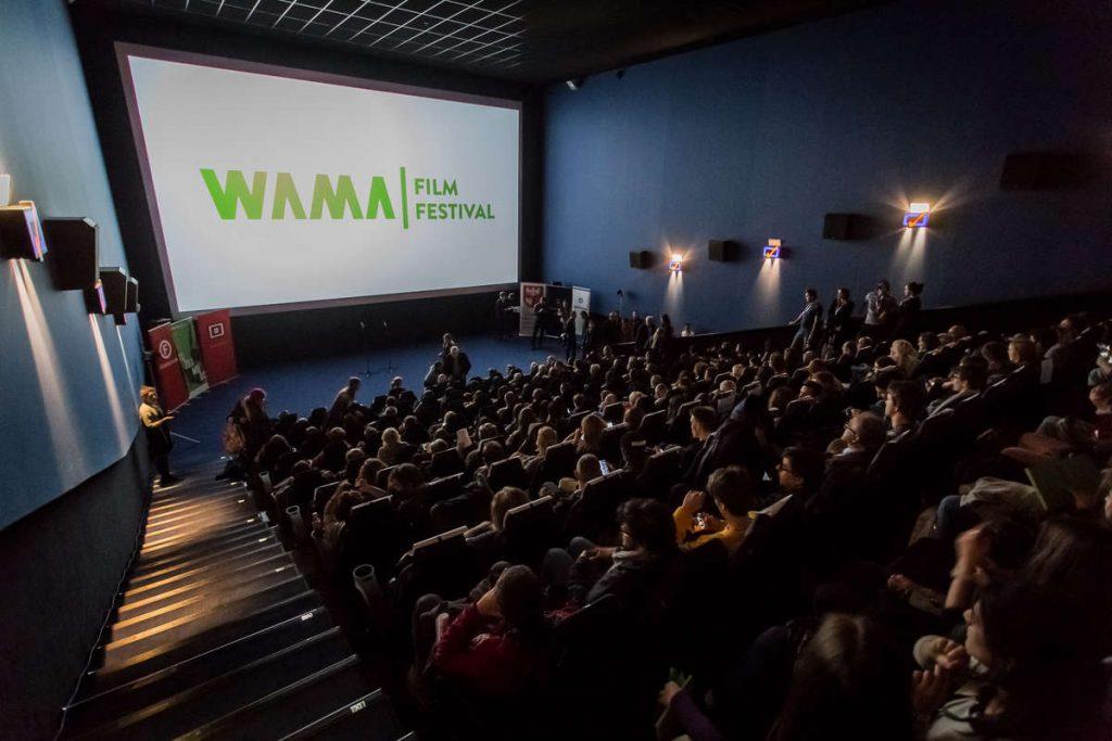 Movie stars in Olsztyn.  WAMA Film Festival is about to start