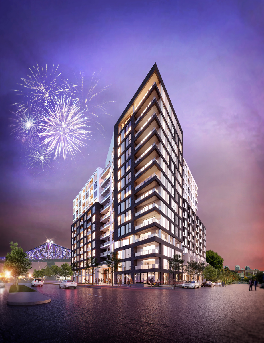The first phase of the Auguste & Louis Condos will have 14 sites.