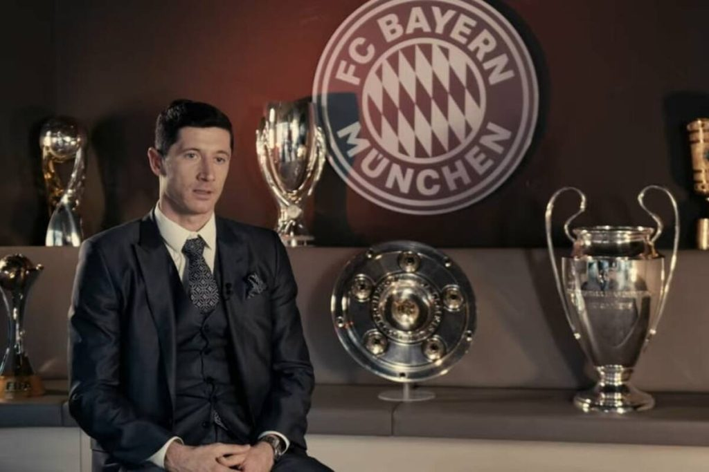 """Robert Lewandowski summed up his achievements.  """"Not everything has gone perfectly in my career"""" [WIDEO]"""