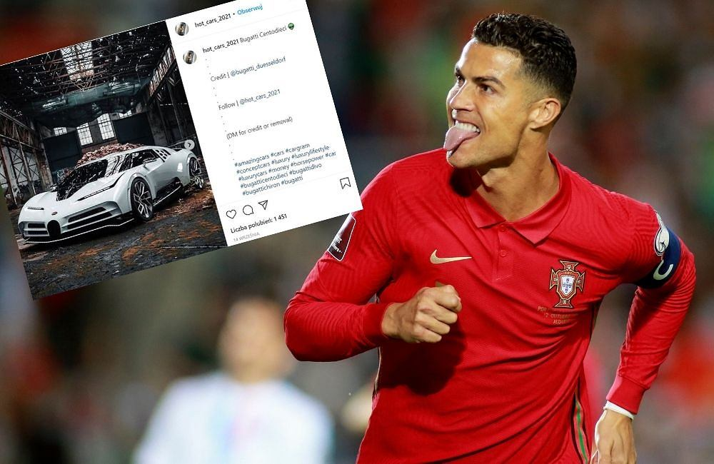 Ronaldo bought the car at the cost of the stadium.  Only ten of these are in world football