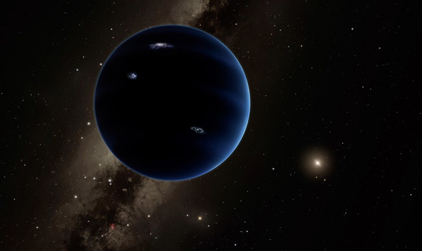Simulations show you how to find evidence of an unknown planet in the solar system