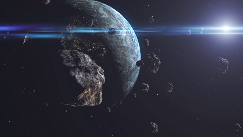 The largest asteroids in the solar system.  Scientists publish unique pictures of space rocks