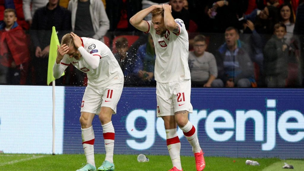 This was the reaction of the Albanian president to the scandalous scenes.  The president of the Polish Football Association saw everything that the Polish national team saw